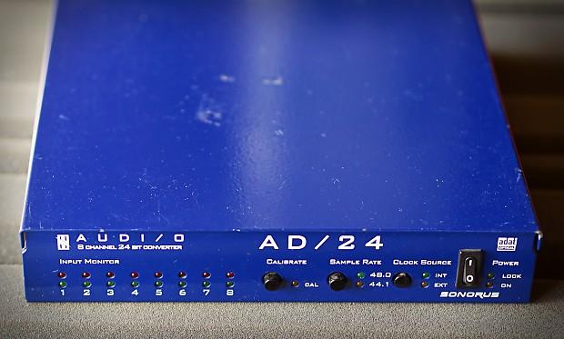Sonorus AD/24 8 channel AD 24 bit professional converter