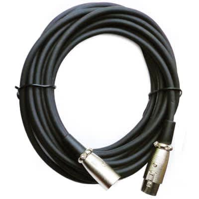 """On-Stage MC12-20LC Microphone Cable, 20"""""""