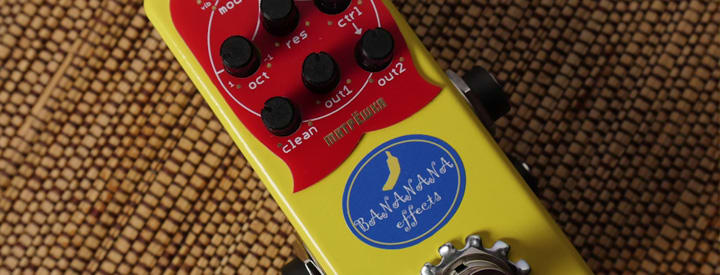 Video: Bananana Effects Matryoshka Bass Synth Pedal