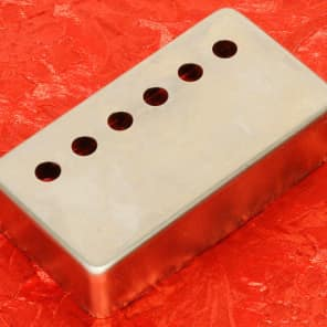 1 Lindy Fralin Raw Nickel Humbucker Pickup Cover For Old Gibson PAFs Made In USA New