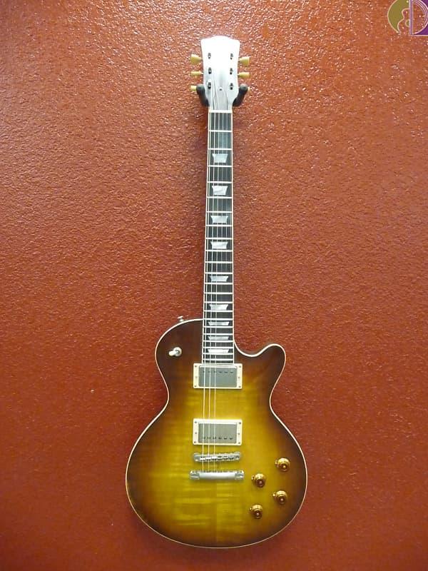 Eastman SB59/V-GB Varnish Gold Burst, Single Cut w/Lollar Pickups, SN-12750968 image
