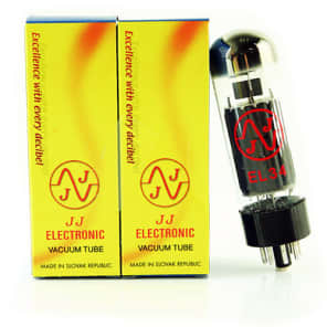 JJ Power Vacuum Tube, EL34, Matched Pair