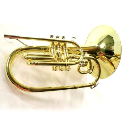 King Model 1121 'Ultimate' Professional Marching Mellophone MINT CONDITION