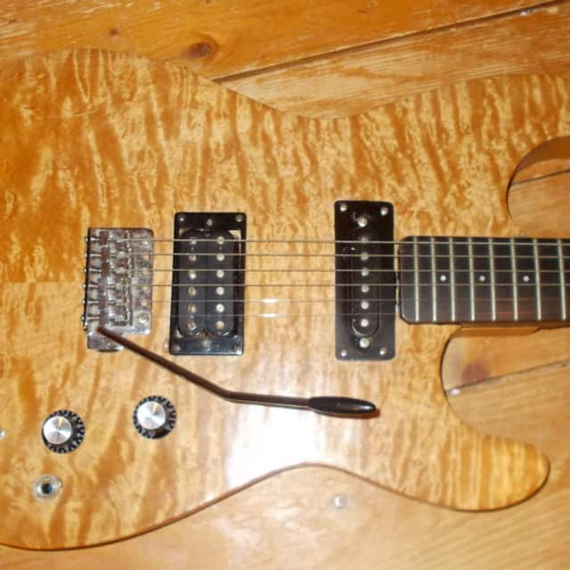 Westone Solid Body Prototype (?) 1981 Natural Flame Top image