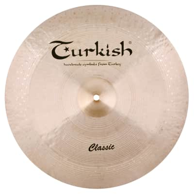 """Turkish Cymbals 16"""" Classic Series Reverse Bell China C-RCH16"""