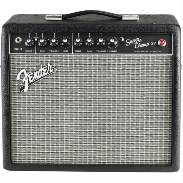 "Fender Super Champ X2 15-watt 1x10"" Tube Combo Amp image"