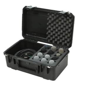 SKB 3i-2011-MC12 iSeries Injection Molded Case for 12 Microphones