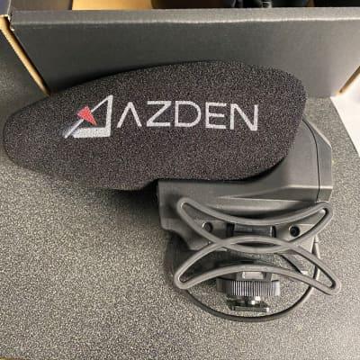 AZDEN SMX-30 Stereo/Mono Switchable Video Microphone 2018 Black