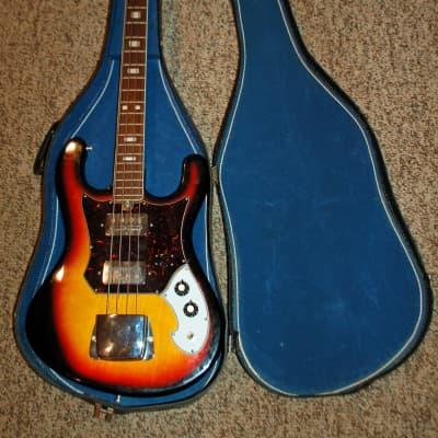 Kawai/.Mayfair Electric Jazz Bass Copy with Case