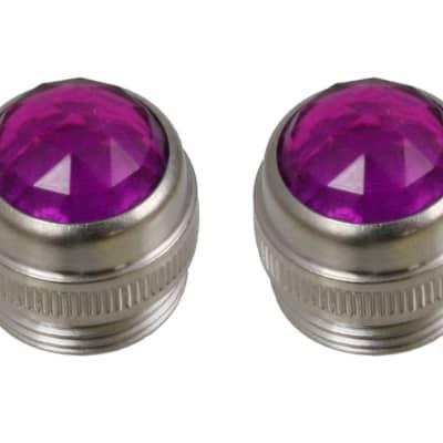 Allparts Purple Panel light lenses for amps (2 pcs.) - EP-0826-040 for sale