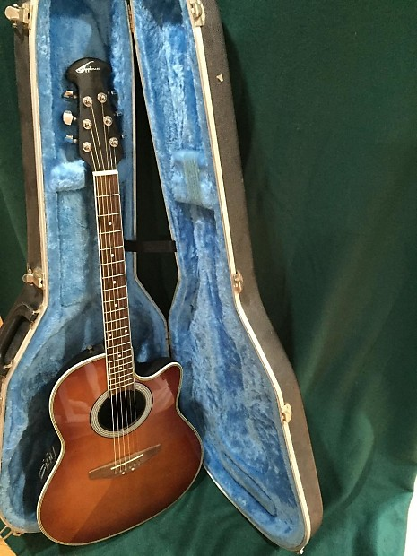 Ovation Applause Summit Series Ae28 With Hardshell Case