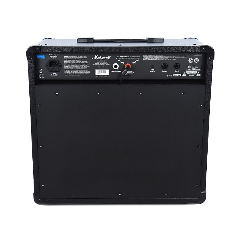 marshall mg50gfx 50w 1x12 combo w 4 programmable reverb. Black Bedroom Furniture Sets. Home Design Ideas