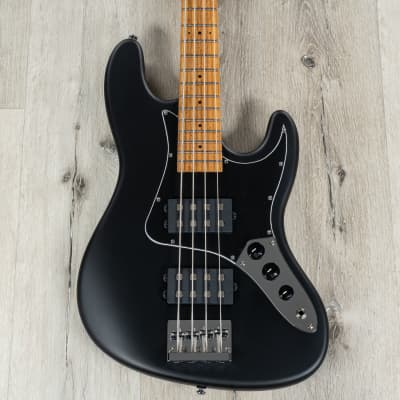 Balaguer The Goliath Select Bass, Roasted Birdseye Maple, Modern Satin Black for sale