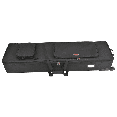 SKB 1SKB-SC88NKW Soft Case for 88-Key Narrow Keyboards with Wheels