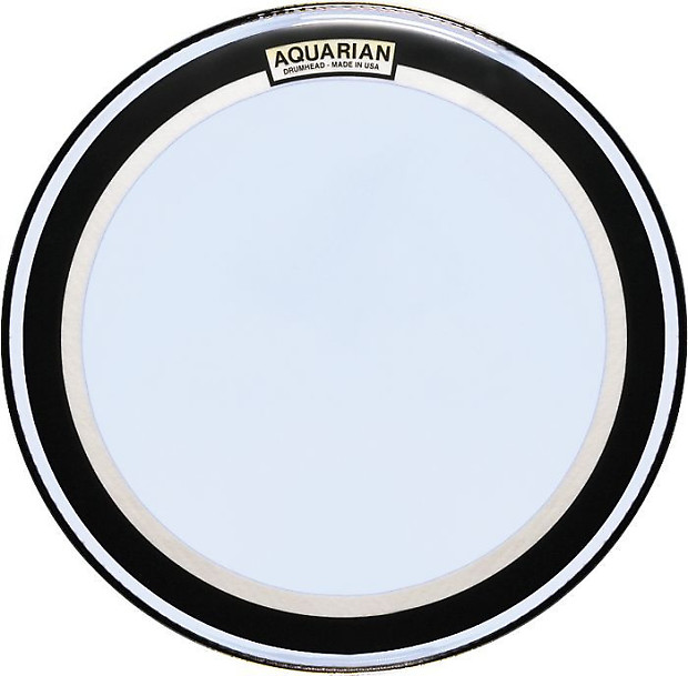 aquarian 28 inch super kick 2 double ply bass drum head reverb. Black Bedroom Furniture Sets. Home Design Ideas