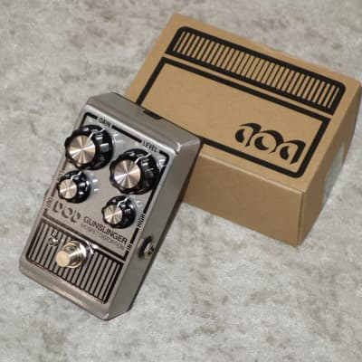 DOD Gunslinger Mosfet distortion pedal with box for sale