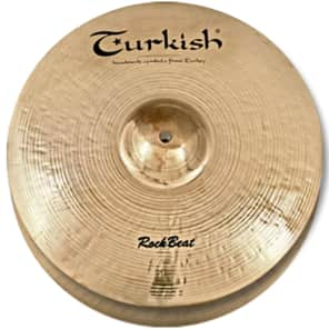 "Turkish Cymbals 12"" Rock Series Rock Beat Hi-Hat Light RB-HL12 (Pair)"