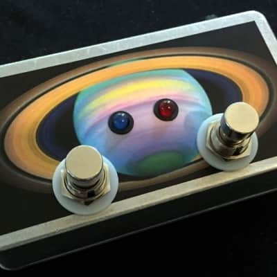 Saturnworks True Bypass Double 2 Looper Loop Switch Pedal w Neutrik Jacks, Crafted in California