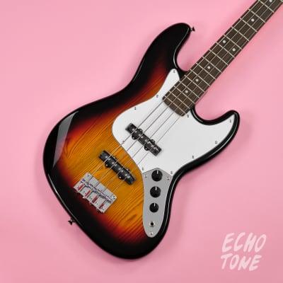 SX Jazz Bass Pack (Tobacco Sunburst) for sale