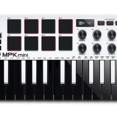 Akai MPK Mini MK3 Keyboard Controller - White
