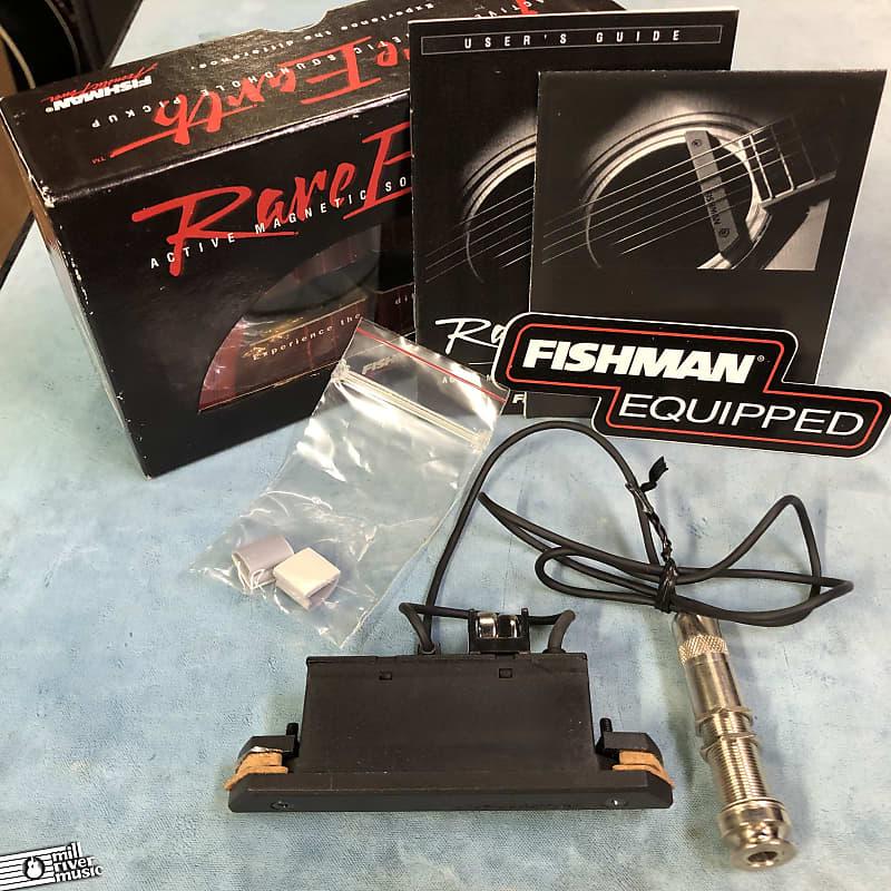 Fishman Rare Earth Single Coil Acoustic Guitar Soundhole Pickup w/ Box