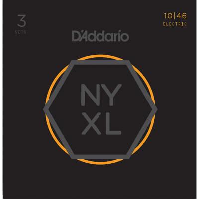 Daddario 3 Pack NYXL Regular Light 10-46