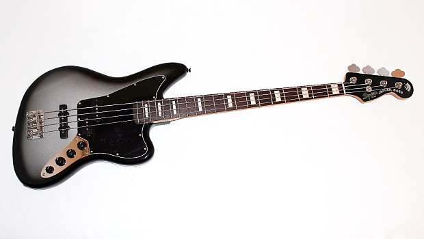 fender squier troy sanders signature jaguar electric bass | reverb