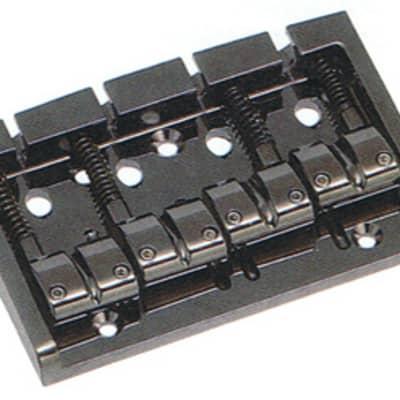 GOTOH 303BO-4 4-string Bass Guitar Bridge, Black for sale