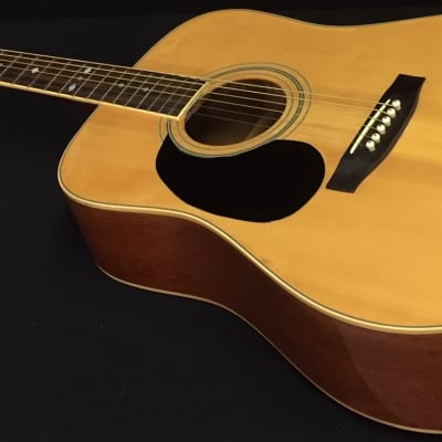 Arbor A-20L Natural Finish Left-Handed Korean Made Acoustic Guitar Professionally Set Up! for sale