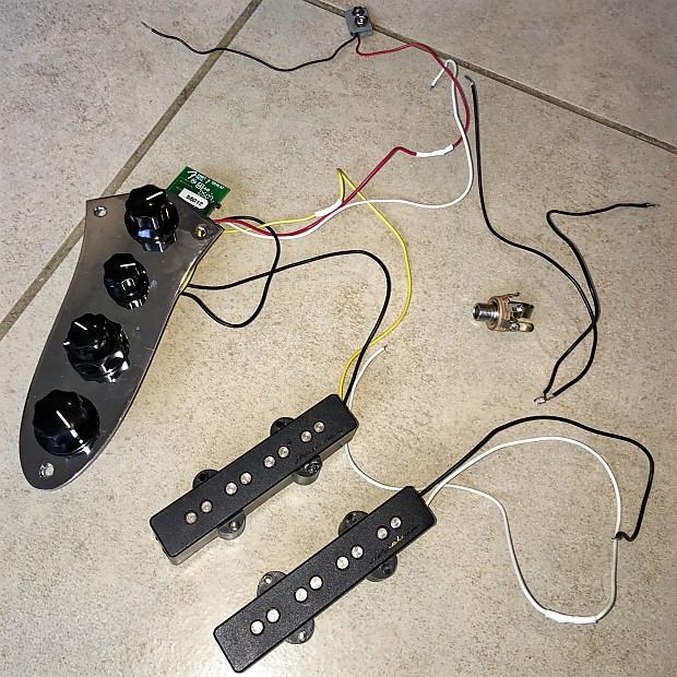 Miraculous Fender Oem Passive Noiseless Jazz Bass Pickups Reverb Wiring Cloud Hisonuggs Outletorg