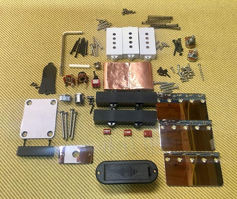 bass guitar parts lot all new parts guitar parts factory reverb. Black Bedroom Furniture Sets. Home Design Ideas
