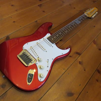 Fender Stratocaster MIJ XII 1988 Red for sale