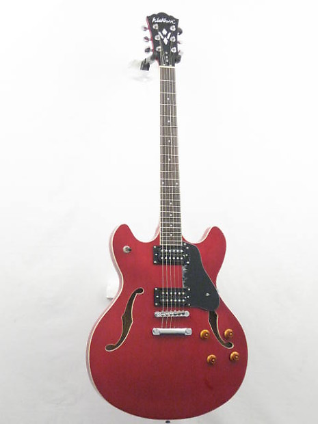 washburn hb30wrk wine red blues style electric guitar with reverb. Black Bedroom Furniture Sets. Home Design Ideas
