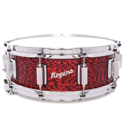 Rogers 5x14 Dyna-Sonic Wood Snare Drum Red Onyx B-Stock