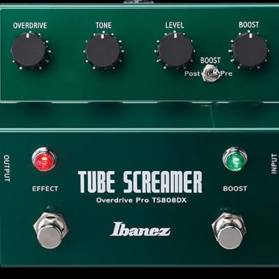 Ibanez TS808DX Tube Screamer w/Booster