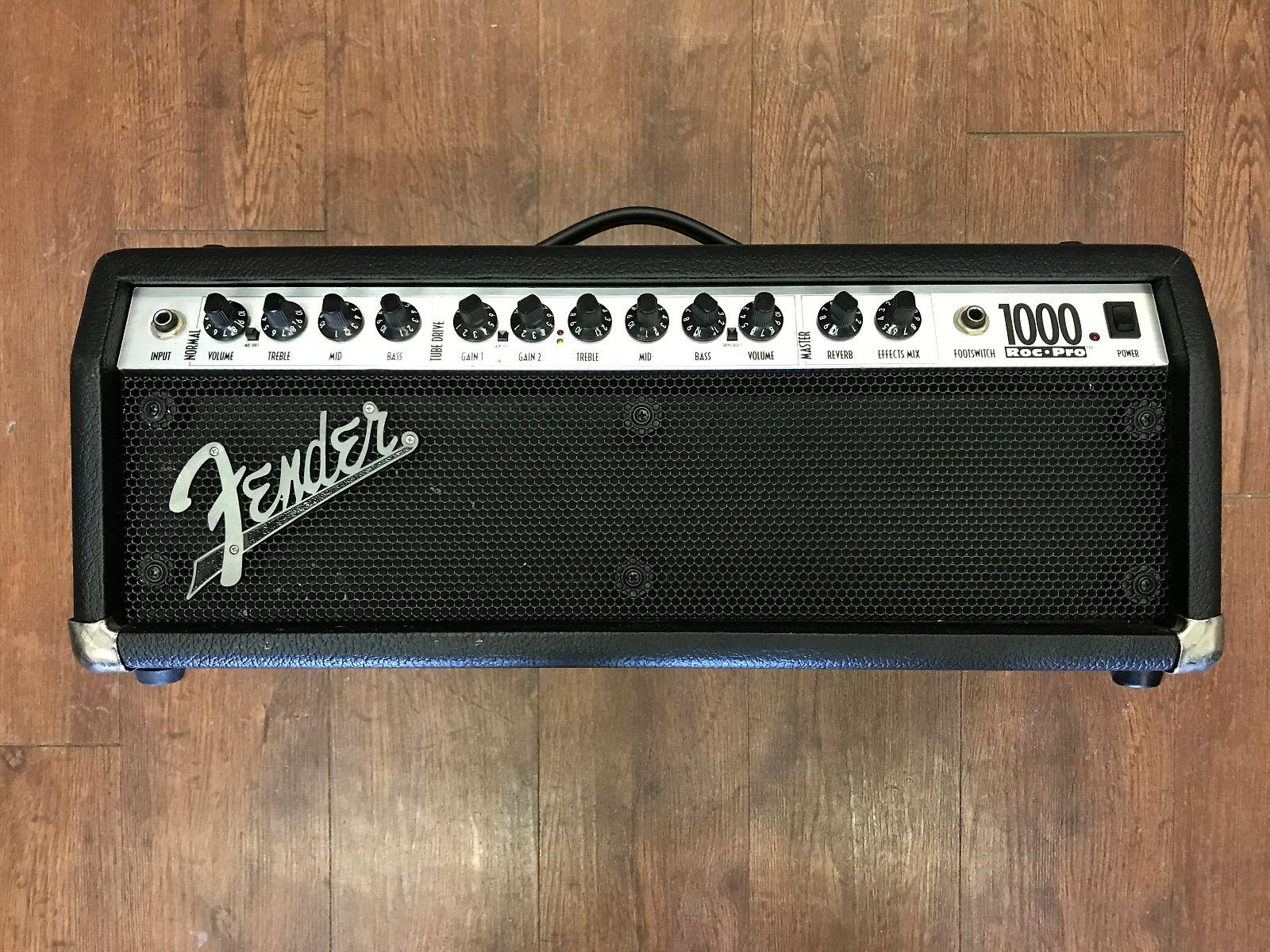 fender roc pro 1000 2 channel 100 watt hybrid guitar amp head reverb. Black Bedroom Furniture Sets. Home Design Ideas