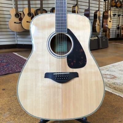 Yamaha FG820-12 Folk Acoustic 12-String Guitar Natural