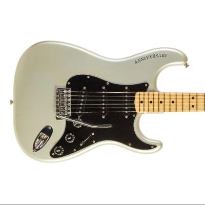 Fender 25th Anniversary Stratocaster Porsche Silver #259087 1979 for sale