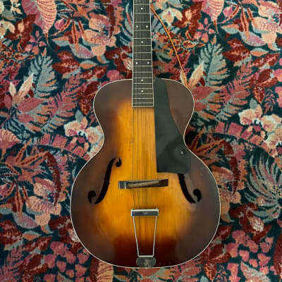 Slingerland Songster 1937 Sunburst Archtop for sale