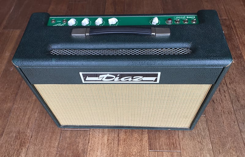 1995 Diaz CD-30 Club Classic 2x10 Combo - Best Fender Vibroverb/Deluxe/Twin  Reverb made by the Master - Rare!