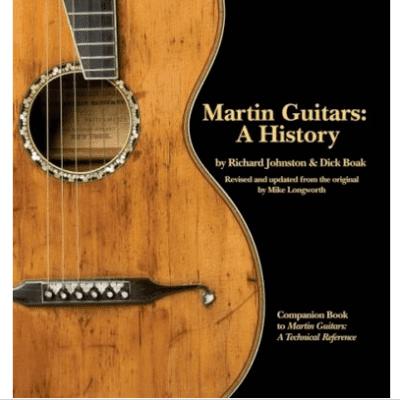 Martin Guitars: A History Book Hardcover