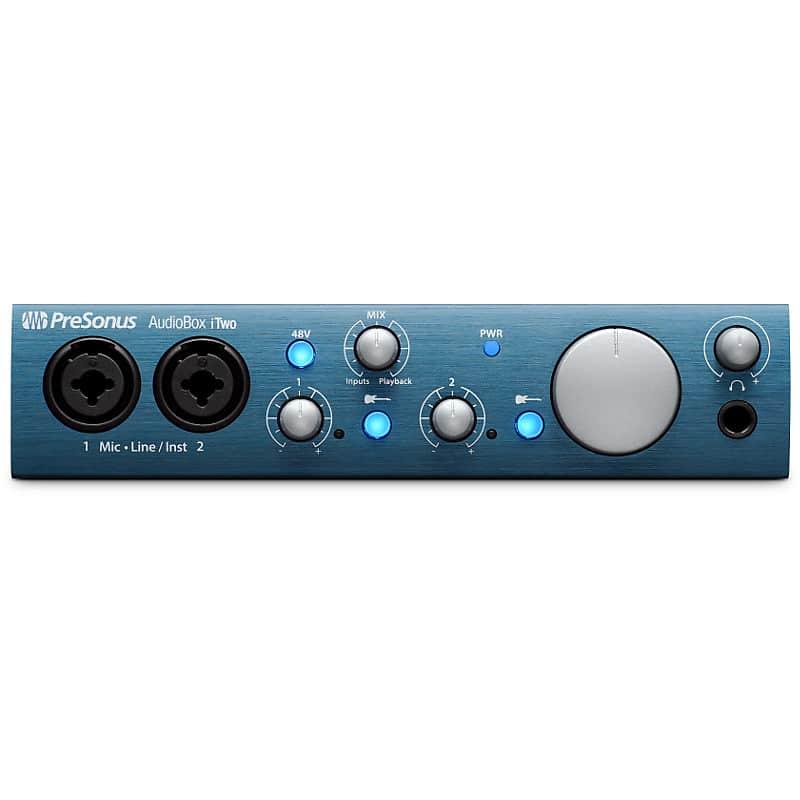 PreSonus AudioBox iTwo Studio Bundle with Waves Tune Real-Time