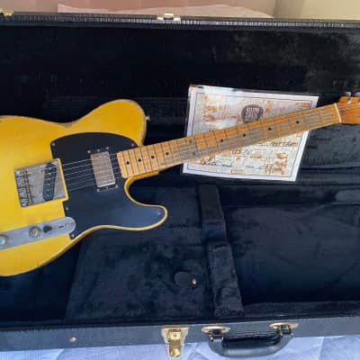 Kelton Swade Telecaster '53 Butterscotch (KEEF) AVRT for sale