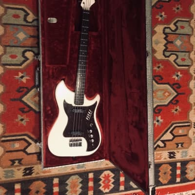 Burns Nu-Sonic Bass 2017 White for sale
