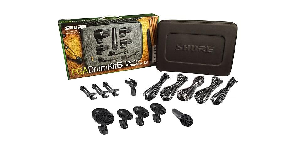 Shure PGADRUMKIT5 5pc Drum Microphone Kit 2019