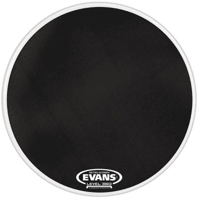 "Evans BD22SCR Retro Screen Resonant Bass Drum Head - 22"""