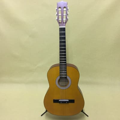 Angelica CG-112 3/4 Acoustic Guitar With Chipboard Case for sale