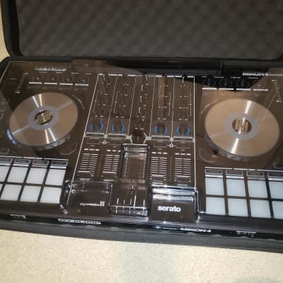Reloop Mixon 4 Serato DJ Pro and DJay Pro 4-Channel DJ Controller with DeckSaver and UDG Case