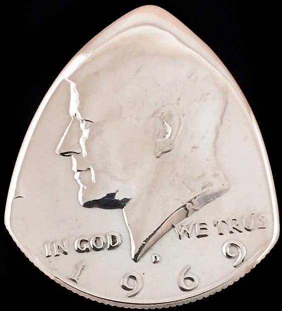 Kennedy Half Dollar 40% Silver   Double Bit Guitar Co