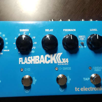 TC Electronic Flashback 2 X4 Delay and Looper Pedal - Version 2